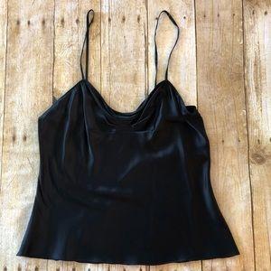 Diane Von Furstenberg Black Silk camisole 6